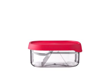 Mepal Fruchtbox Ellipse Nordic red