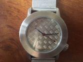 Akteo Armbanduhr - Riffelblech extrabreit