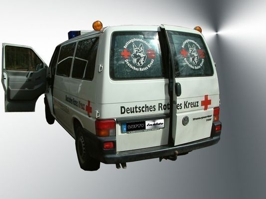 Lufty - VW Multivan/Caravelle T4 (Hecktüre / H-Bügel) - Heckbelüftung – Bild 2