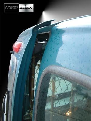 Lufty®Spezial - Renault Kangoo I (Hecktür)- Heckbelüftung – Bild 3