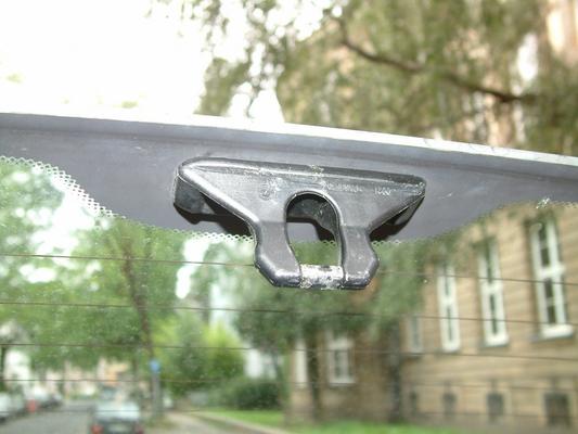 Lufty®Standard - Mercedes Benz - Smart I (C 450) - Heckbelüftung – Bild 1