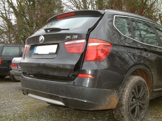 Lufty®Spezial - BMW X3 (F25) - Heckbelüftung – Bild 1