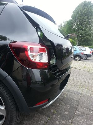 Lufty® - Dacia - Sandero - Heckbelüftung – Bild 1