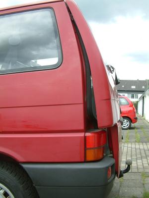 Lufty - VW T4 Multivan - Heckklappe mit J-Bügel – Bild 1