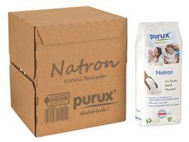 Purux Natron 6kg Natriumhydrogencarbonat Natriumbicarbonat Lebensmittelqualität Backsoda Basenbad – Bild 6
