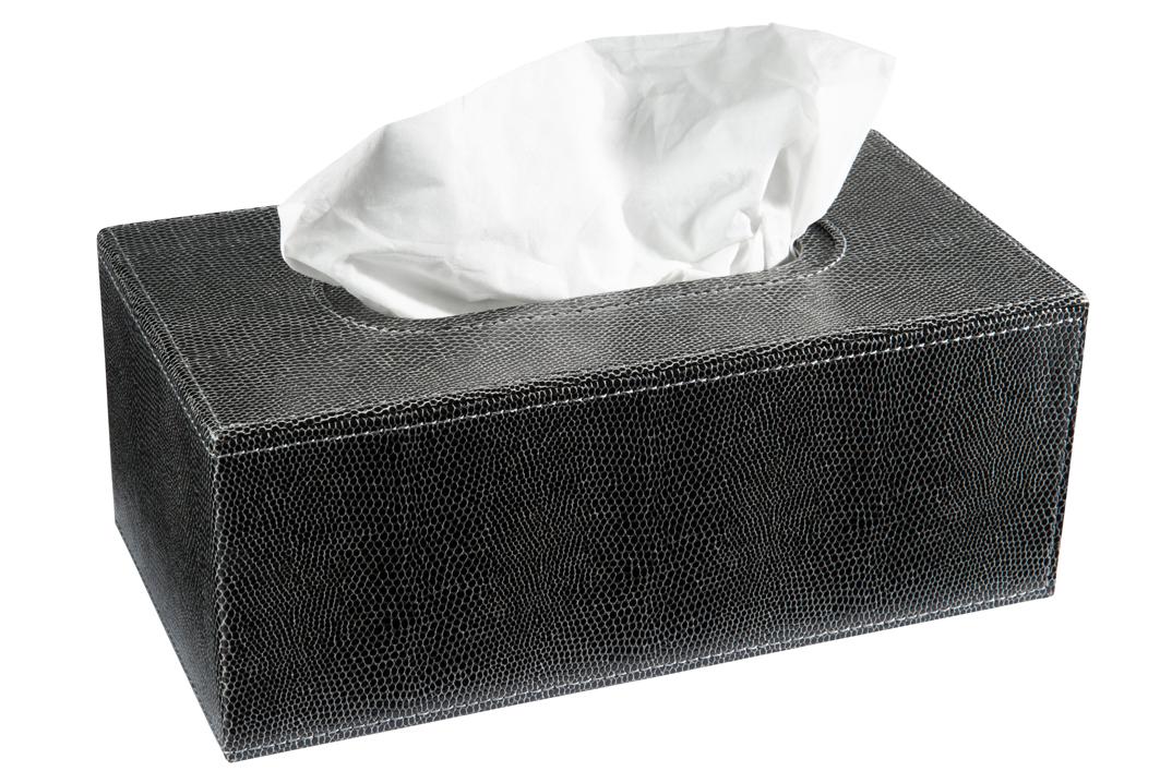 kleenexbox tissue box box f r kosmetikt cher schlangenlederoptik schwarz wohnen aufbewahren. Black Bedroom Furniture Sets. Home Design Ideas