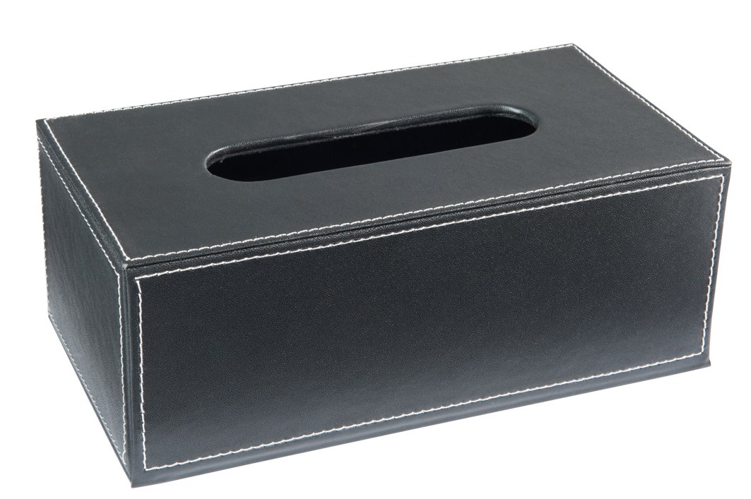 kleenexbox tissue box box f r kosmetikt cher lederoptik. Black Bedroom Furniture Sets. Home Design Ideas
