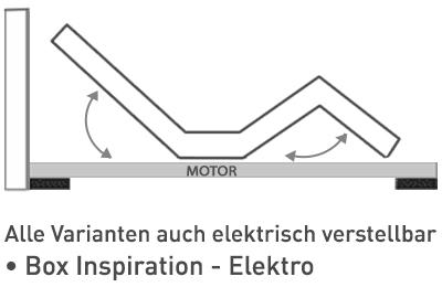 Elektro-Box für alle Varianten möglich