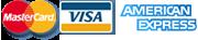 Master Card | Visa | American Express