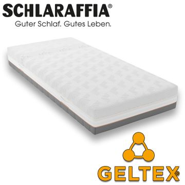 Schlaraffia GELTEX Quantum Touch 240 Matratze 100x190 cm H3 Gelschaum – Bild 2