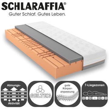 Schlaraffia GELTEX Quantum Touch 240 Matratze 120x200 cm H3 Gelschaum – Bild 4