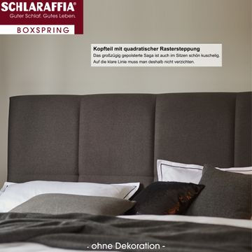 Schlaraffia Saga Box Plattform Boxspringbett 180x200 cm – Bild 3