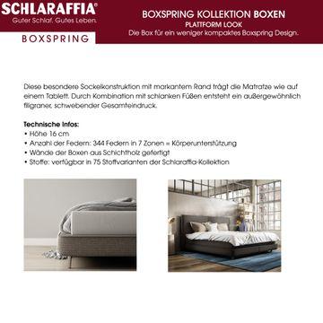 Schlaraffia Saga Box Plattform Boxspringbett 180x200 cm – Bild 5