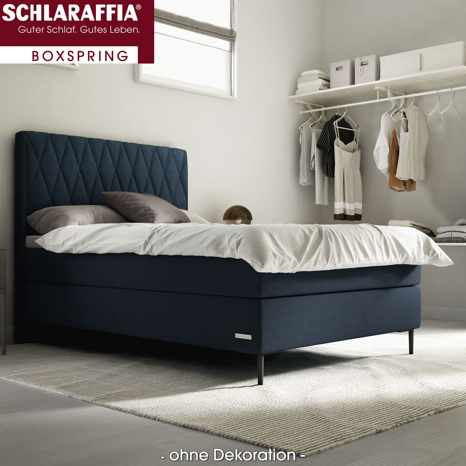 schlaraffia marylin box cubic boxspringbett 160x220 cm boxspringbetten nach gr e 160 x 220 cm. Black Bedroom Furniture Sets. Home Design Ideas