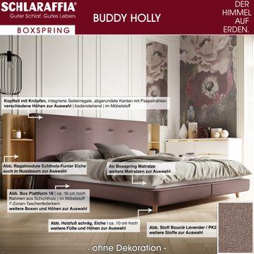 Schlaraffia Buddy Holly Nussbaum Box Cubic Boxspringbett 180x200 cm – Bild 3