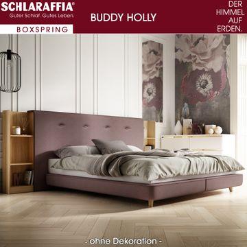 Schlaraffia Buddy Holly Nussbaum Box Cubic Boxspringbett 120x220 cm – Bild 2