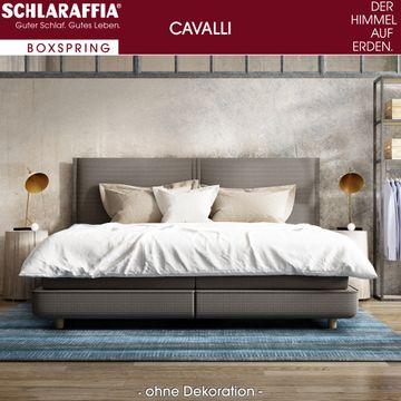 Schlaraffia Cavalli Box Cubic Boxspringbett 200x200 cm – Bild 1