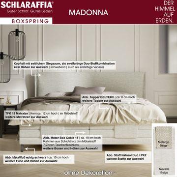 Schlaraffia Madonna Box Cubic Boxspringbett 160x210 cm – Bild 3