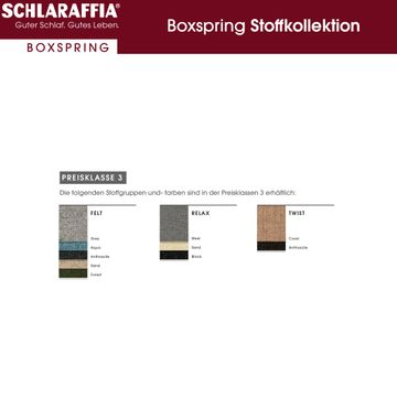 Schlaraffia Fidelio Nussbaum Box Cubic Boxspringbett 180x200 cm – Bild 13