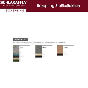 Schlaraffia Fidelio Nussbaum Box Cubic Boxspringbett 120x220 cm – Bild 13