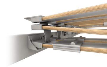 Schlaraffia Platin 28 Plus NV 90x210 cm unverstellbare 5-Zonen GELTEX Unterfederung – Bild 6