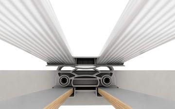 Schlaraffia ComFEEL 40 Plus M Move 100x220 cm elektrisch verstellbare 5-Zonen Unterfederung – Bild 6