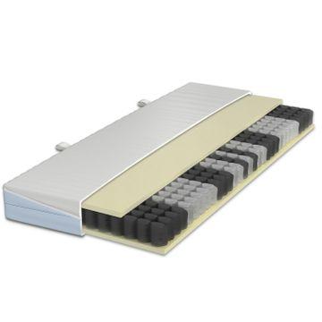 Schlaraffia Clever 35 TFK Taschenfederkern Matratze 140x200 cm H2(weich)+H2(fest) – Bild 5
