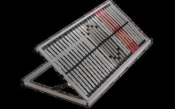 Schlaraffia Classic 28 Side Lift links NV 5-Zonen Lattenrost 80x200 cm – Bild 2