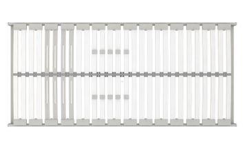 Schlaraffia Classic 28 Plus NV (NC-17) 5-Zonen Lattenrost 90x190 cm – Bild 3