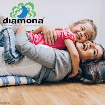 Diamona Perfect Fit Plus Partnermatratze 180x200 cm H2/H3 (2 Kerne in 1 Bezug)  – Bild 5