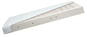 Diamona Latex Pure 7-Zonen Partnermatratze 160x190 cm H2/H2 (2 Kerne in 1 Bezug)