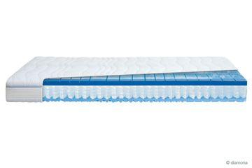 Diamona blue activ® GTI Partnermatratze 160x220 cm H3/H3 (2 Kerne in 1 Bezug)