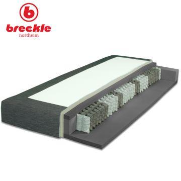 Breckle Boxspringbett Arga Top 180x210 cm inkl. Topper – Bild 5