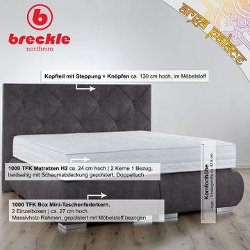 Breckle Boxspringbett Arga Palace 120x210 cm – Bild 2