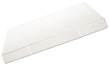 Sonderposten: Grafenfels BLAU - Taschenfederkern Matratze 100x200 cm H3 – Bild 1