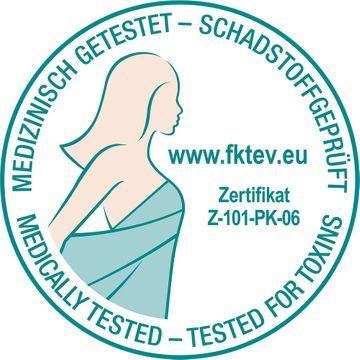 Grafenfels Partnermatratze WEISS H2 & BLAU 200x200 – Bild 7