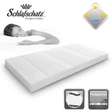 Schlafschatz Wellness Star 7-Zonen-Schaum-Matratze mittel – Bild 2