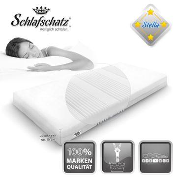 Schlafschatz Wellness Stella 7-Zonen-Schaum-Matratze mittel  – Bild 5