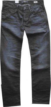 Mavi, Herrenjeans, darkblue used, schmale Fussweite, Marcel19019