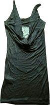 Katspell, Shirtdress, schwarz, Träger, Mat.-Mix-Einsatz, Katwar 15W15