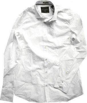 Mavi Herrenhemd weiß weicher Popeline antailliert 0299920962