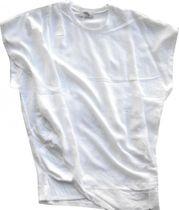 Cotton Candy Blusenshirt weiß Wickeleffekt B2-01 jetzt €49,95 statt €69,95