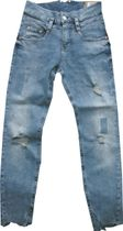 "Herrlicher hippe ""Mom"" Taillenjeans freaky powerused destroyed Stretchdenim Pitch Mom"