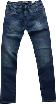 Mavi skinny Herren Stretchjeans ink brushed ultra move James12897