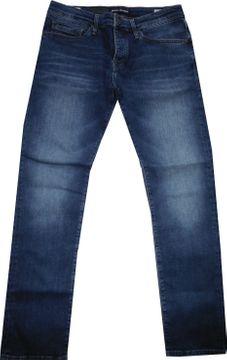 Mavi Herrenjeans mid indigo skinny leg comfort Yves23742