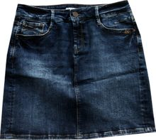 Mavi  frecher Jeansrock darkstone-used knielang 5Pocket Alice 13884