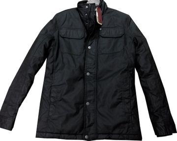 Petrol Industries Outdoor Jacket black wetterabweisend Steppfutter M-FW18-JAC104