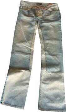 Freesoul Da.Jeans inch:32/34 2farbig vorne geschnürt Bass statt €85,90 jetzt € 59,95