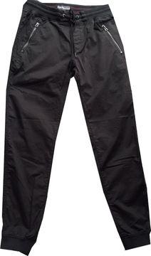 Khujo Joggstyle Pants schwarz Strickbündchen NATHALIA1433