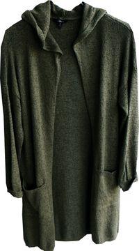 Mavi Da.Strickjacke moss green Kapuze Bouclé Hooded Cardigan171193-29704